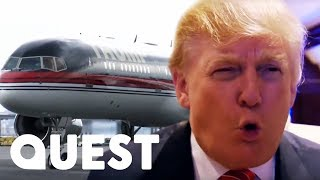 Inside Donald Trump's Hundred Million Dollar Private Plane! | Mighty Planes