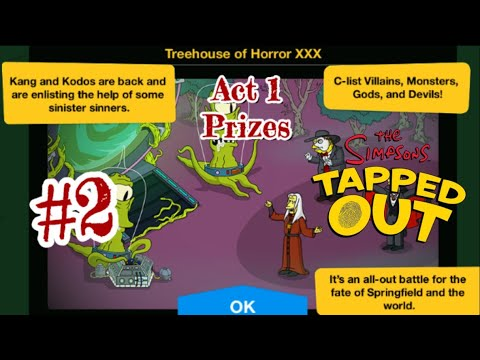 The Simpsons Tapped Out Halloween 2020 Act 2 The Simpsons: Tapped Out [487] Halloween Treehouse of Horror