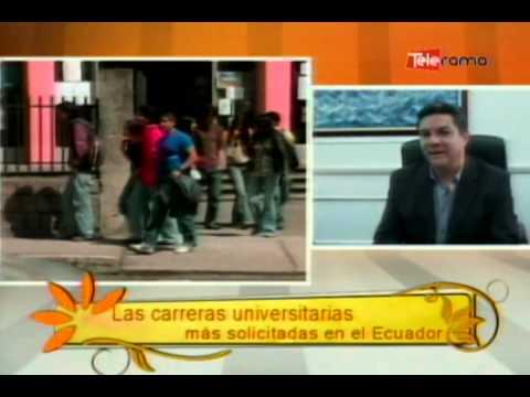 Las carreras universitarias más solicitadas en el Ecuador
