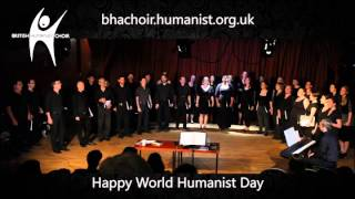British Humanist Choir sings Goodnight Sweetheart @ One Life 2014