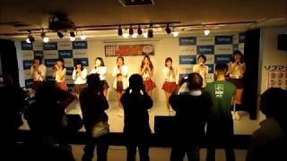 2017年11月7日行われたグラドル文化祭のプチワンマンライブからの1曲...