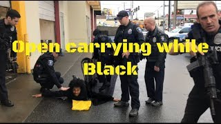 Open Carrying While Black