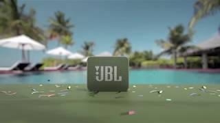 JBL GO 2 - Novo design e agora à prova d'água