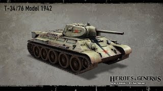 Heroes and Generals Обзор Танка Т-34/76 Больной Радикулитом!)