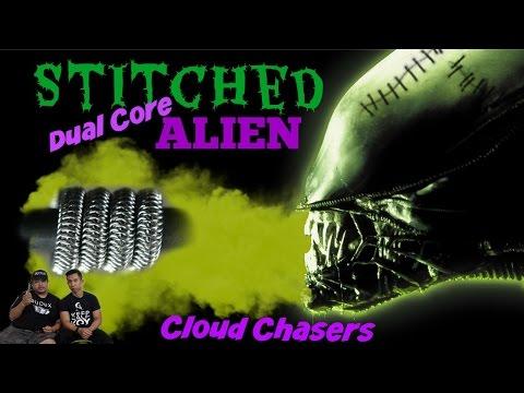 Dual Core Stitched Alien coil/wire build