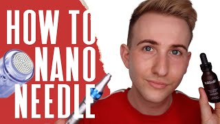 Nano Needling at home how to - how to improve skin texture and glow with no salon visit
