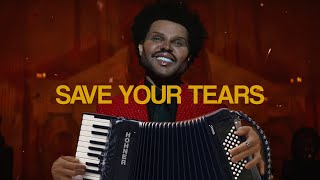 """The Weeknd - """"Save Your Tears"""" Cover - Accordion Instrumental"""