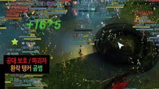2021 10 25 전섭 원탑 환락 탱커 곰범ㅣ하제서버 피크 쟁 주요 장면.Avi [아키에이지]
