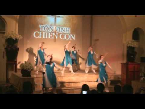 Tôn vinh Chiên Con - Múa Nữ -  Nhóm Sinh Viên HT Tin Lành Hà Nội