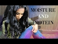 How to grow your hair fast ep 3 Moisture and Protein Balance | Curly Proverbz
