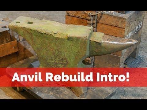 Anvil rebuild Intro! What is this anvil PLEASE HELP!!