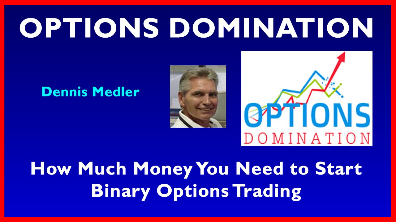 How much money to start trading options