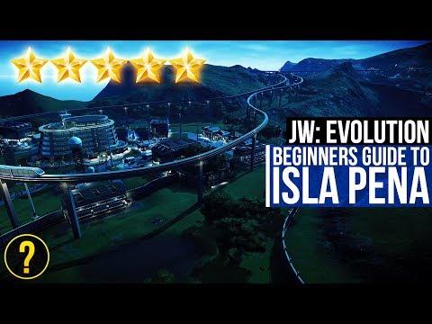 A BEGINNER'S GUIDE TO ISLA PENA   Jurassic World: Evolution Isla Pena Guide