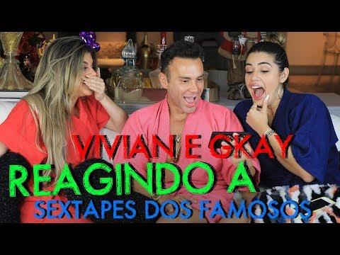 REAGINDO AOS SEXTAPES DOS FAMOSOS COM GKAY E VIVIAN AMORIM | #HottelMazzafera