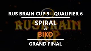 WC3 - RBC9 Qualifier 6 - Grand Final: [UD] Biko vs. Spiral [ORC]