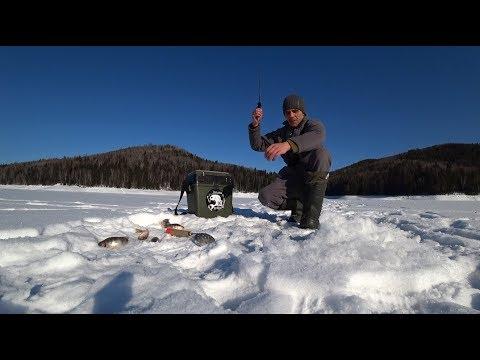 60 КМ ПО ЛЬДУ НА рыбалку в дикие и красивые просторы Сибири
