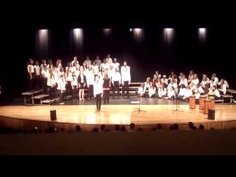 Fort Riley Middle School - When I Look at You