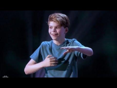 Merrick Hanna: Tells Stories Through Amazing ROBOTIC Dance Moves | America's Got Talent 2017