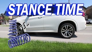How to Install lowering Springs on a BMW F15 X5