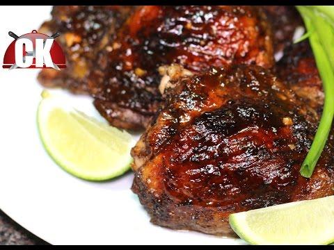 Jamaican jerk chicken recipe oven with seasoning