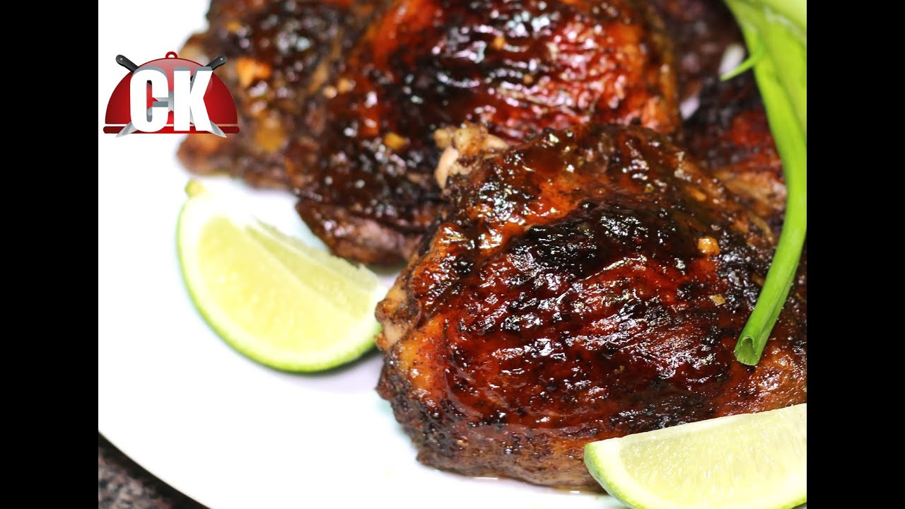 How To Make Jerk Chicken Baked Jerk Chicken Chef Kendra S Easy Cooking Youtube