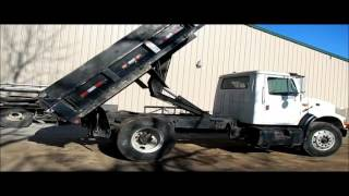 1991 International 4900 dump truck for sale | sold at auction December 30, 2015