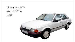 Ford Escort GL / Ghia (Motor M-1600) - Sincronización de distribución