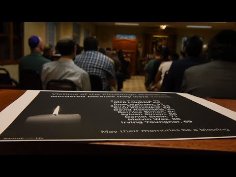 Chabad of Greater Sacramento service for Pittsburgh shooting victims