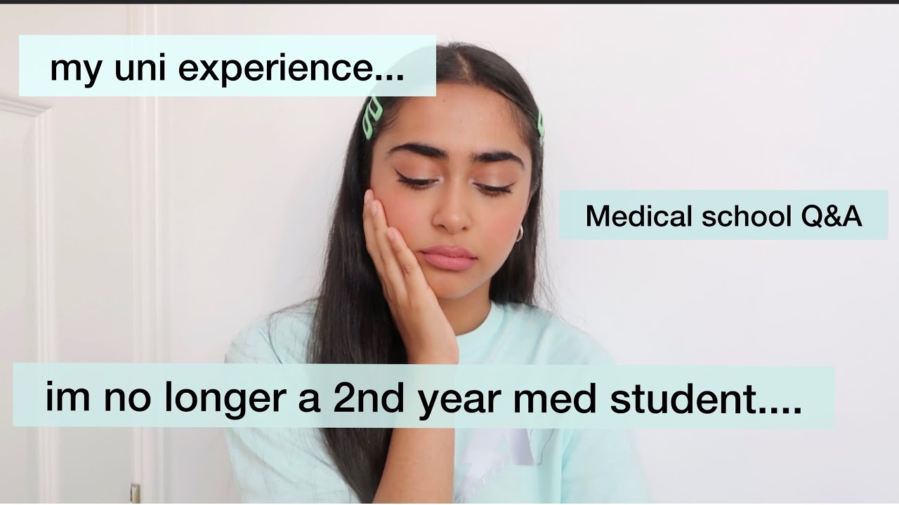 I'm no longer a 2nd year med student....(medical school q&a)