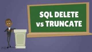 SQL DELETE vs TRUNCATE