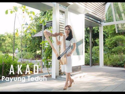 Akad - Payung Teduh [Harp Cover] by Maria Pratiwi