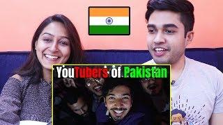 INDIANS react to Youtubers of Pakistan   Mooroo   Vlog