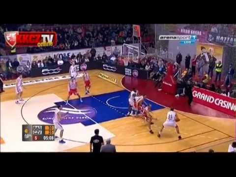 Radnički Kragujevac - Crvena zvezda Telekom 80:75   Ceo meč [ABA League 26. kolo]