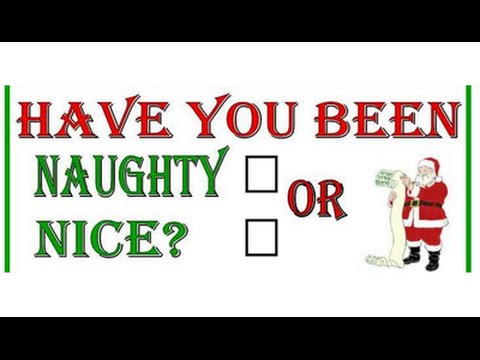ef4f62df9 Are you on the Naughty or Nice List? - YouTube