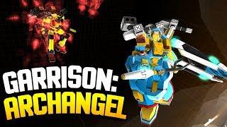 Garrison Archangel - INSANE FAST-PACED GIANT ROBOT MECH ACTION! (Garrison Archangel Gameplay)