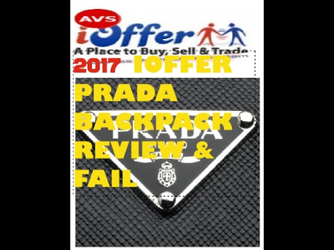92fd6cbfab26 ... coupon code for ioffer prada backpack fail and review 2017 56e69 d2a74  ...