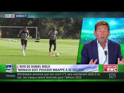 After Foot du mardi - 15/08 – Partie 3/7 - L'avis tranché de Daniel Riolo sur le dossier Mbappé