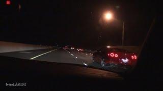 Audi R8 V10 vs. Nissan GTR