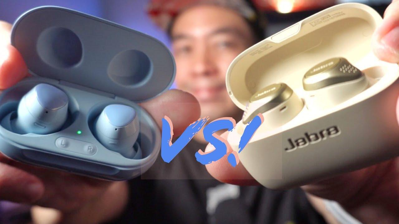 Samsung Galaxy Buds Vs Jabra Elite 75t Which Has The Best Sound Youtube