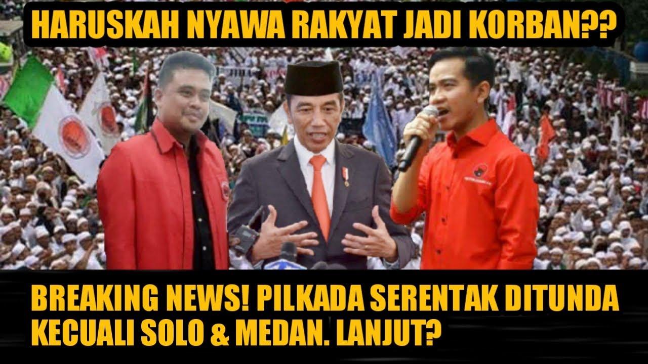 VIRAL HARI INI ~PILKADA Hanya Untuk Gibran Rakabuming Raka dan Bobby Nasition? Jokowi - Info Terkini