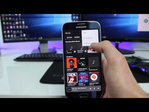 Download Samsung S8 Music Player App (APK) For Samsung Galaxy S6