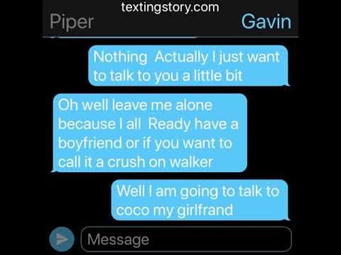 Gavin and coco and walker and piper chat
