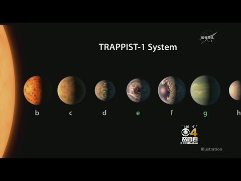 'Mind-Blowing' NASA Discovery: 7 Earth-Sized Planets Orbiting Nearby Star