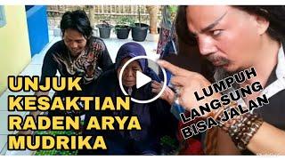 Raden Arya Mudrika Seorang Ibu Heran Bisa Jalan Lagi Setelah 4th Lumpuh
