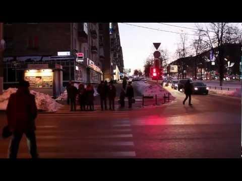 Переход Ленинского проспекта за 13 минут