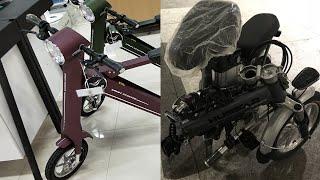 Электровелосипед - лучший транспорт в Китае