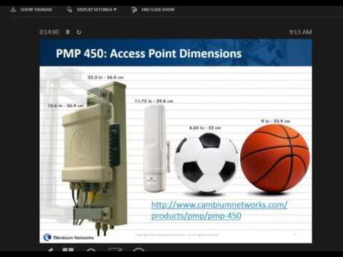 PMP 450 capabilites webinar