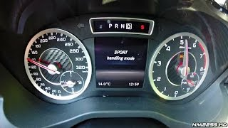 mercedes a45 amg launch control 0 150 km h