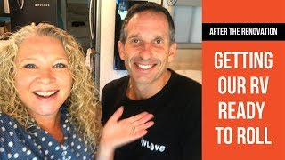 RV Travel Day: How We Pack Down & Get Ready to Roll | RVLOVE's RV DIY Makeover | Behind The Scenes