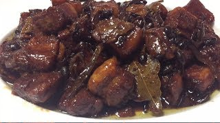 THE BEST Caramelized Pork Humba😋lutong visaya👍with recipe